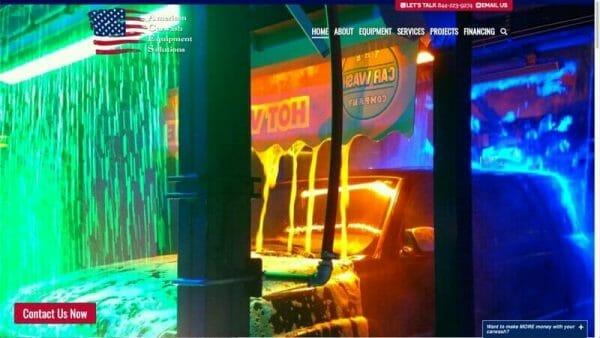 prowebsitecreators portfolio carwashaces website makeover