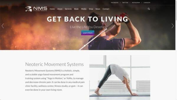 prowebsitecreators portfolio samparkernms